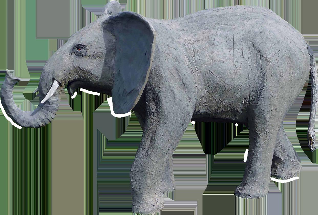 tier.art Wolfgang Herbst tier-art-3d – 3D-Tiere - Ziele für den Bogensport, als Werbefigur oder Dekoration