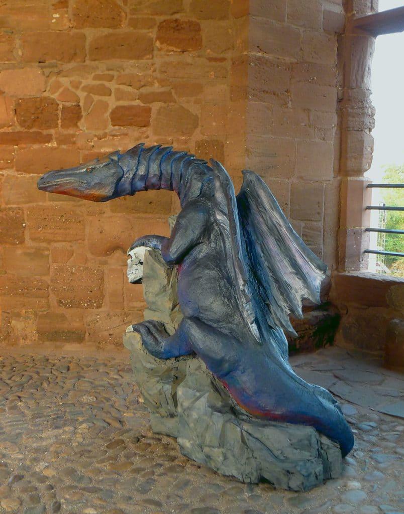 Wolfgang Herbst: 3D-Tiere für Bogensport, Dekoration, Werbung - tier.art - Drache 0162